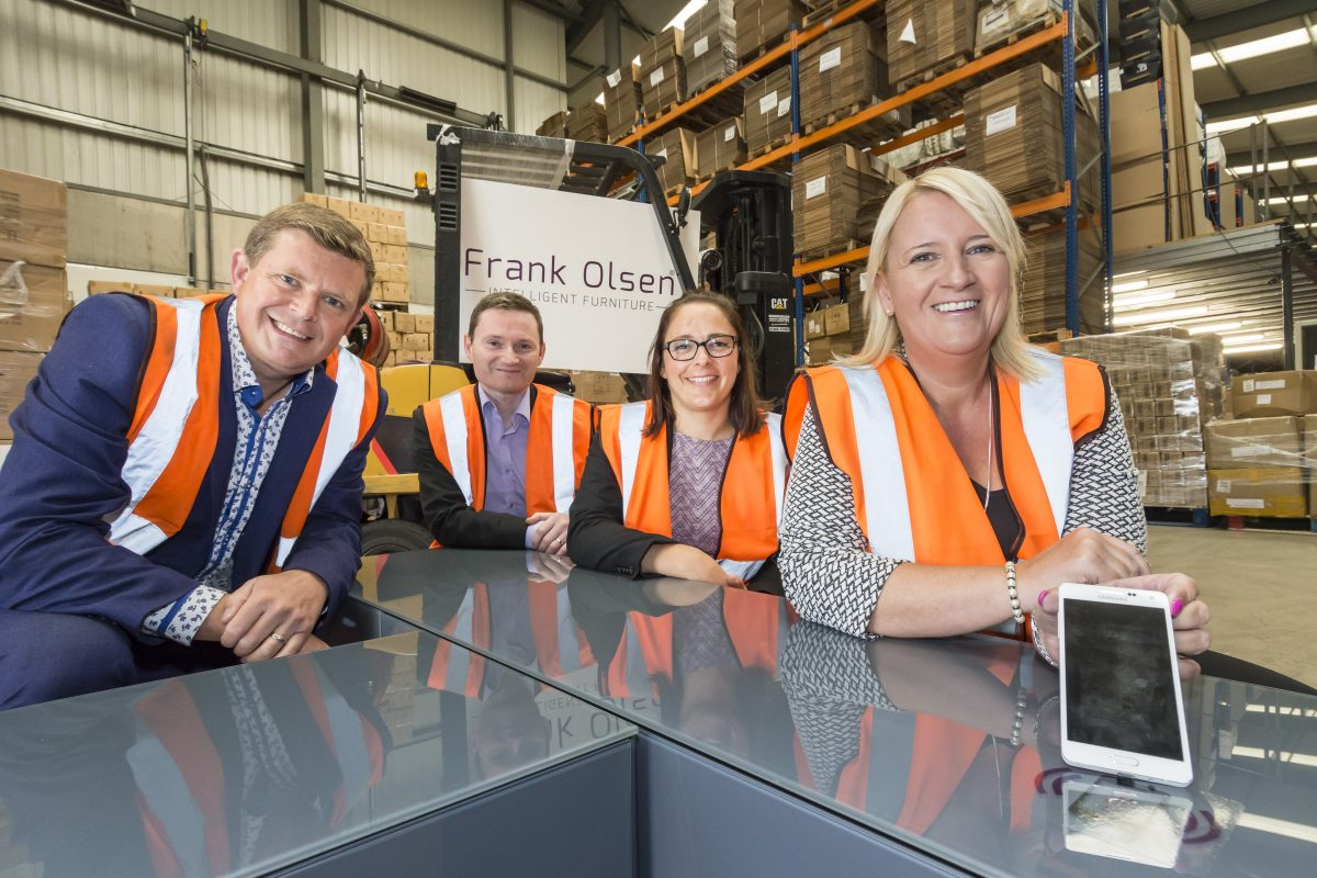 Intelligent furniture company boosted by Northern Powerhouse Investment Fund