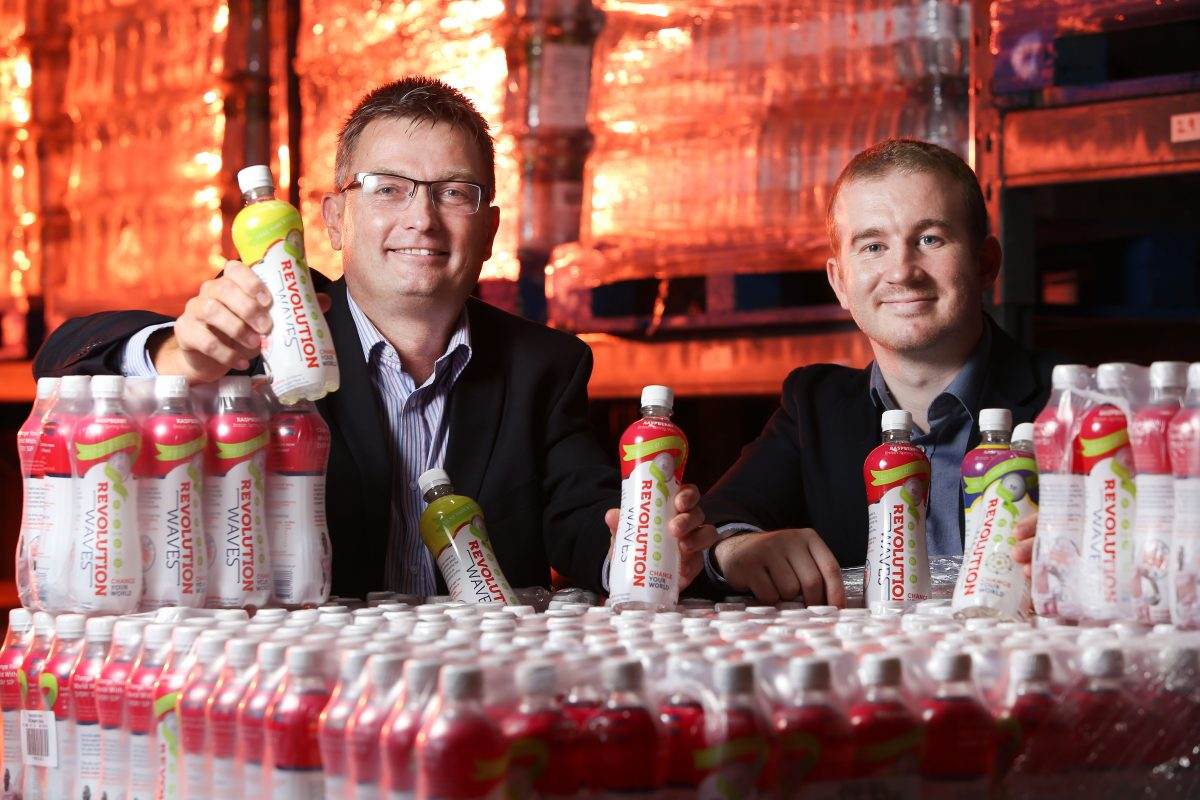 A wave of success for soft drinks brand