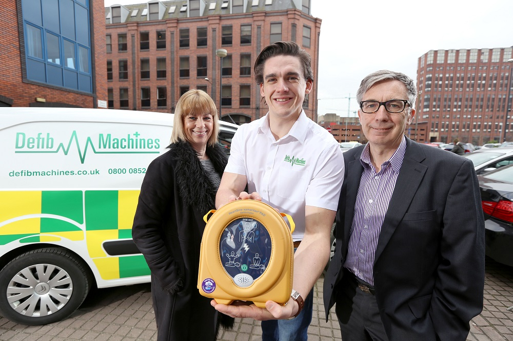 Business lender breathes life into start-up defibrillator business