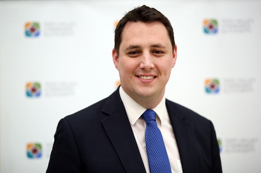 Headshot of Ben Houchen, Tees Valley Mayor