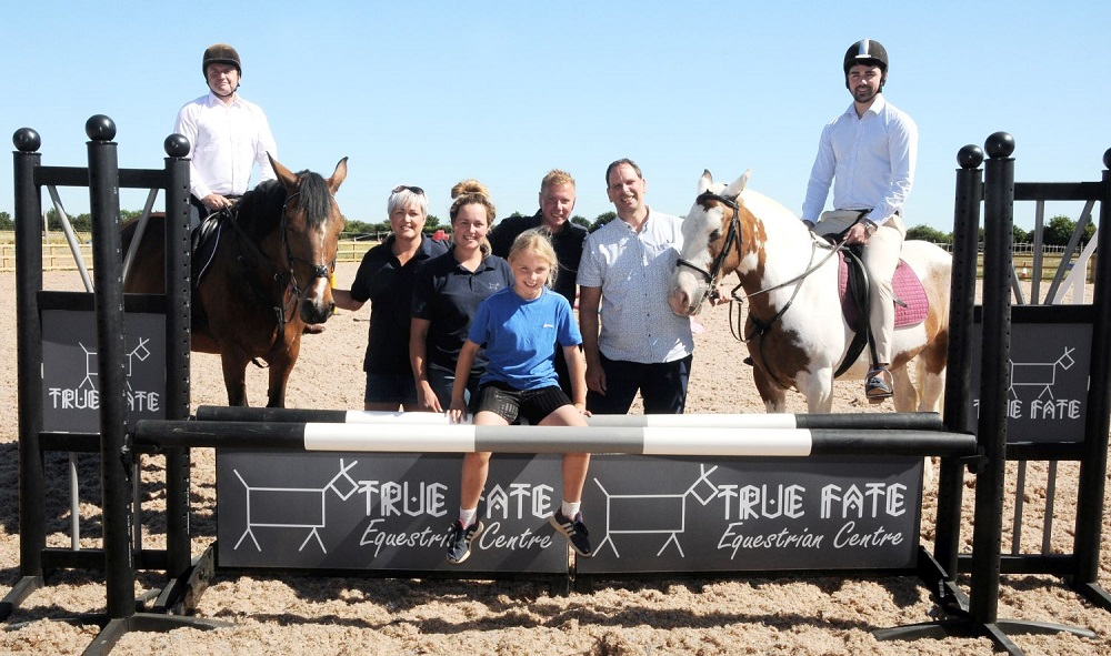 Doncaster equestrian centre saddle-up for winning future with the help of local lender