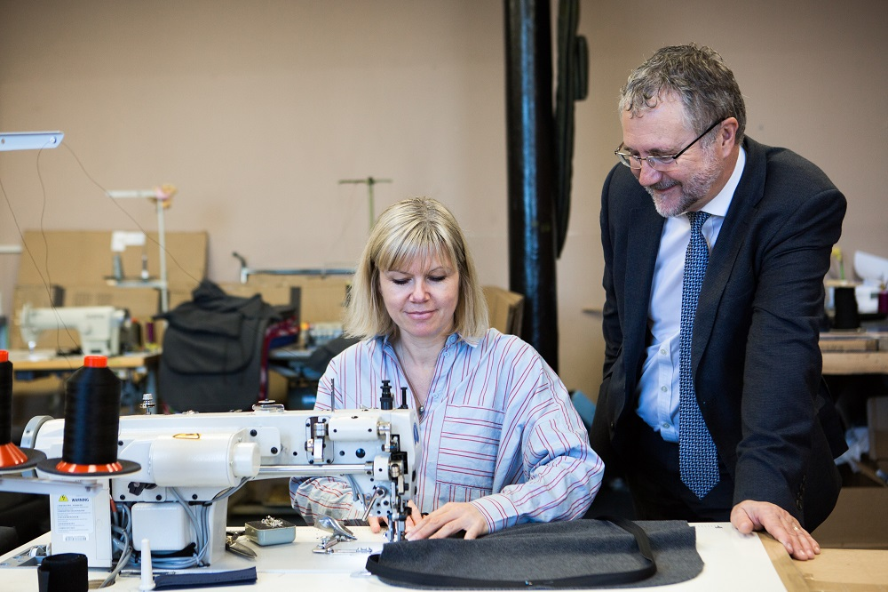 Mum of four bags funding to expand luggage manufacturing business
