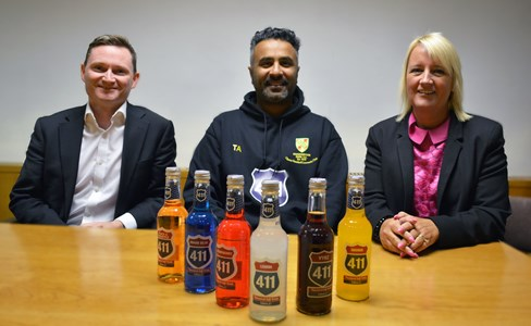 NPIF – BFS & MSIF Microfinance funding fuels Oldham drinks business expansion