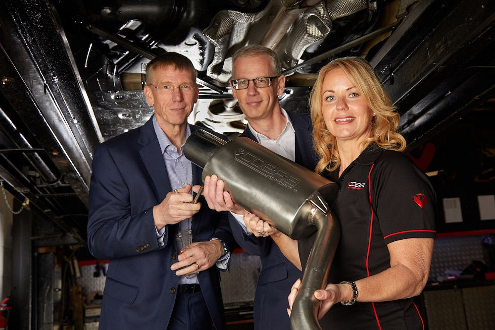 Exhaust firm set to race ahead after acquisition