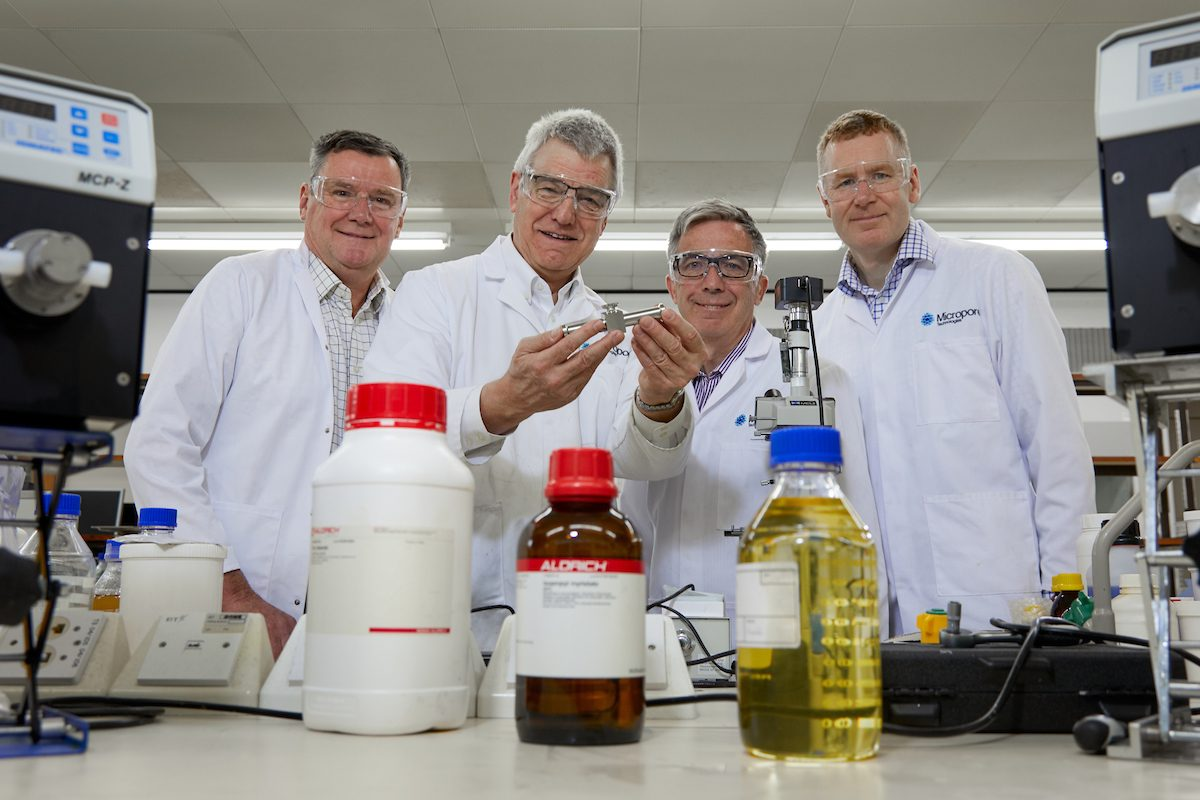 Award-winning chemicals firm secures £860k investment
