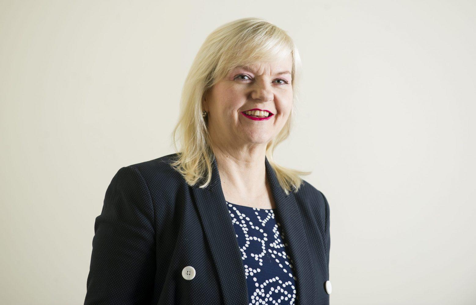 A headshot of Jo Lappin, Chief Executive of Cumbria LEP