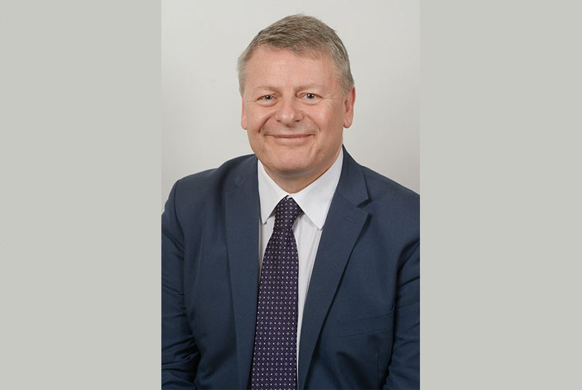 A headshot of Grant Peggie, the Director of Regional Funds at the British Business Bank
