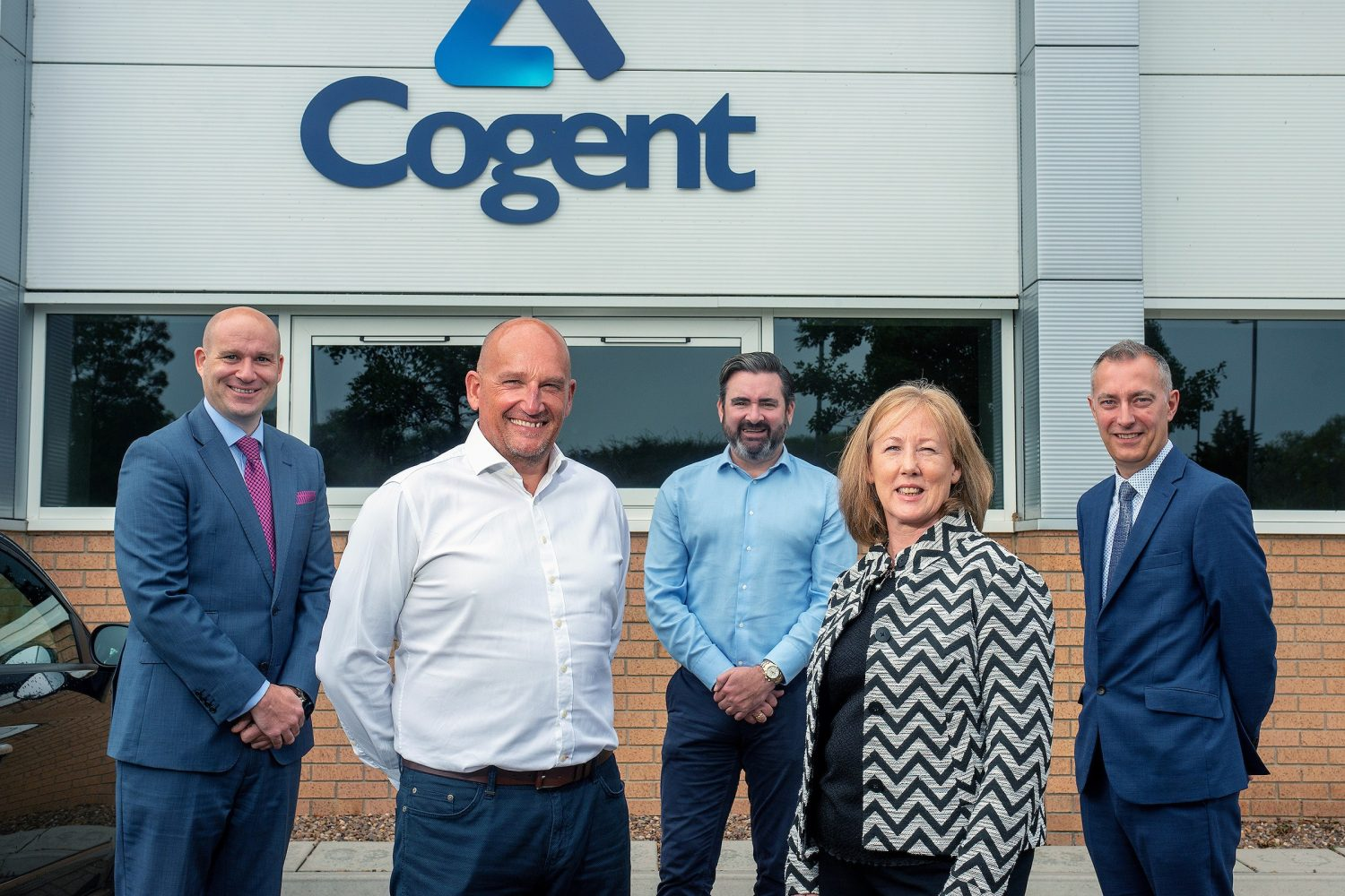 Representatives from Cogent Projects and FW Capital